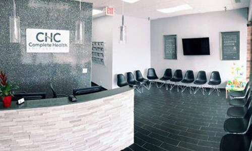 Chiropractic Willowbrook IL Reception Area